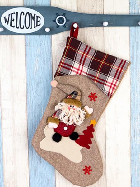 Christmas New Hot Santa Claus Cloth Pendants