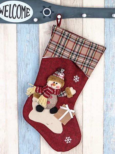 Christmas New Hot Snowman Cloth Pendants