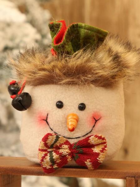Fancy Snowman Christmas Decoration
