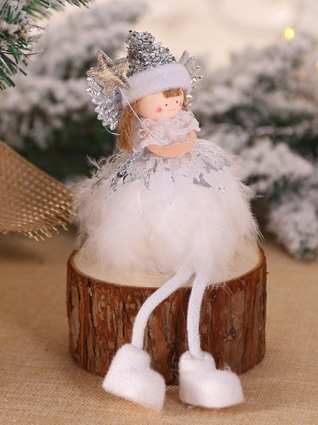 Amazing Cloth With Angel Christmas Decoration