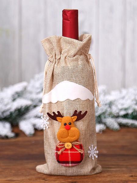 Fascinating Cloth With Wapiti Christmas Decoration