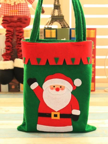 Christmas New Hot Santa Claus Cloth Handbags