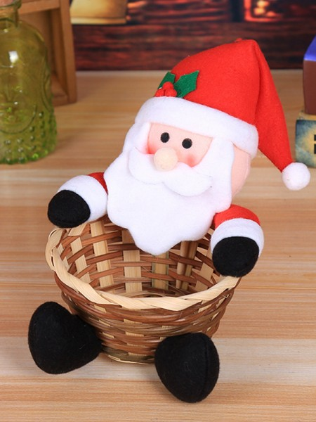 Unique Cloth With Santa Claus Christmas Decoration