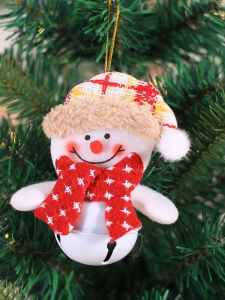 Christmas Hot Sale Snowman Cloth Pendants