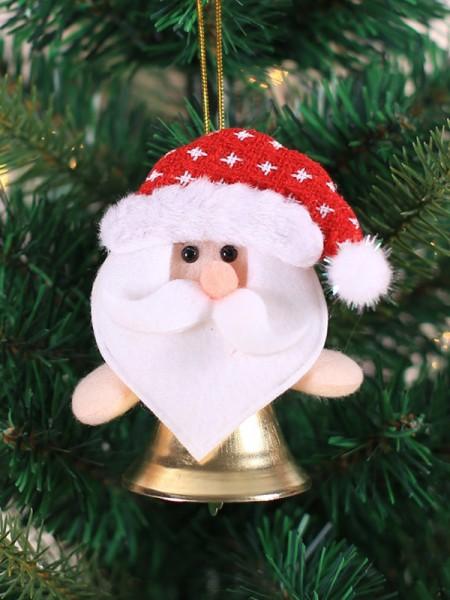 Christmas Excellent Santa Claus Cloth Pendants