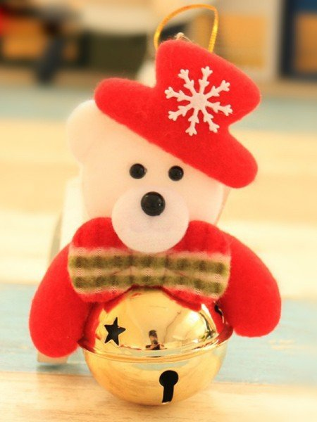 Awesome Cloth With Bear Christmas Decoration