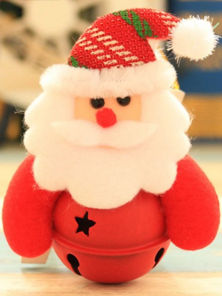 Attractive Cloth With Santa Claus Christmas Decoration