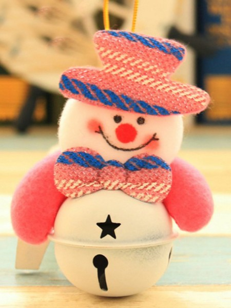 Fashionable Cloth With Snowman Christmas Decoration