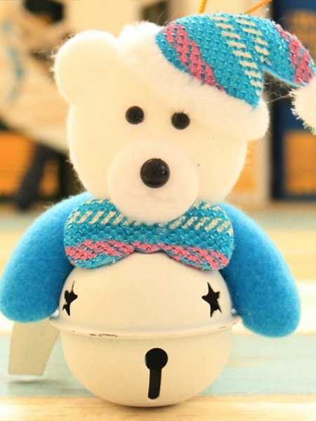 Fascinating Cloth With Bear Christmas Decoration