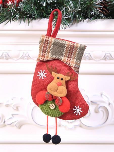 Pretty Cloth With Wapiti Christmas Decoration