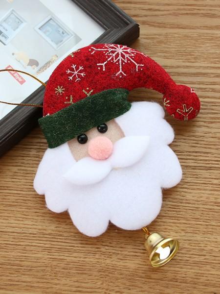Christmas Pretty Good Santa Claus Pendants(10 Pieces)