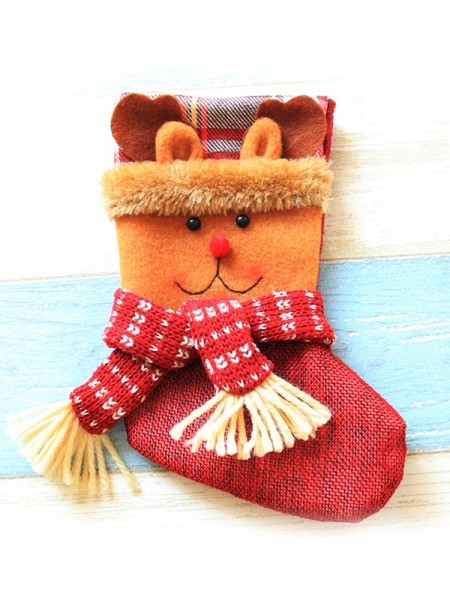 Charming Cloth With Wapiti Christmas Decoration