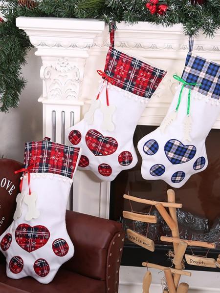 Christmas Graceful Cat Paw Cloth Pendants