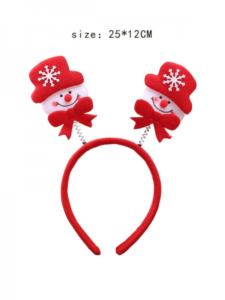 Christmas Awesome Snowman Headpieces