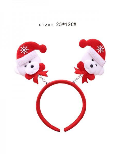Christmas Charming Bear Headpieces