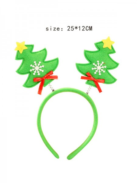 Christmas Lovely Christmas Tree Headpieces