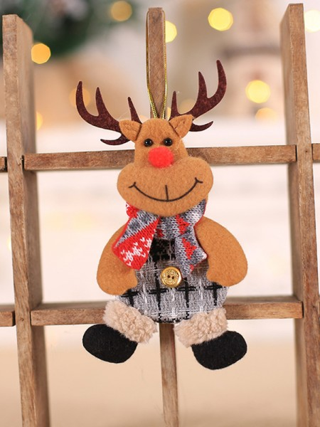 Christmas Gorgeous Deer Cloth Pendants