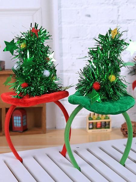 Christmas Stunning Cloth With Christmas Tree Headpieces