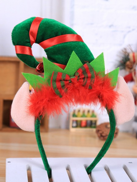 Christmas Stunning Cloth With Hat Headpieces