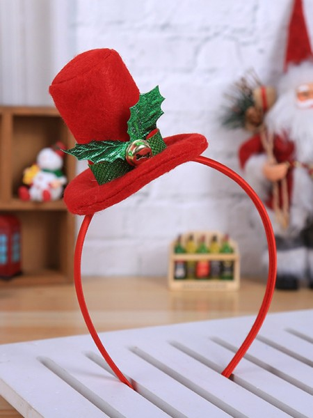 Christmas Exquisite Cloth With Hat Headpieces