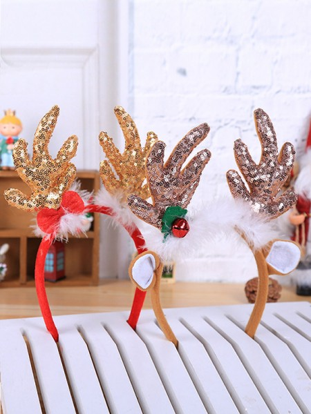 Christmas Fashionable Cloth With Antler Headpieces