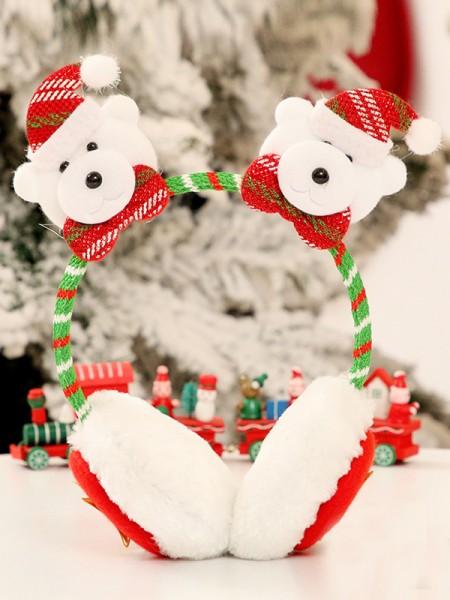 Christmas Cloth With Bear Headpieces
