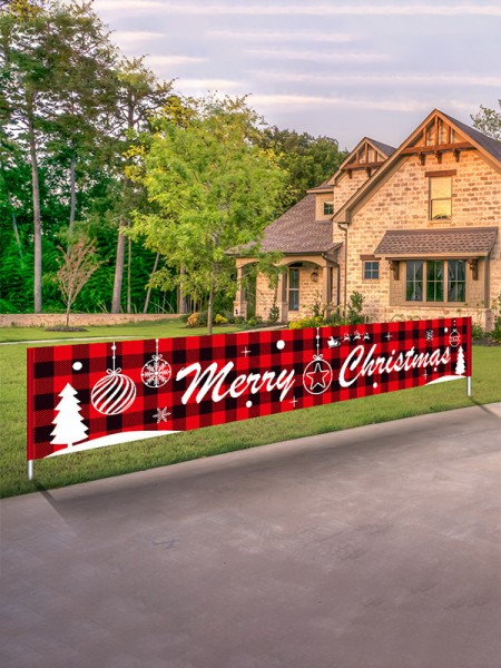 Christmas Lovely Cloth Banner
