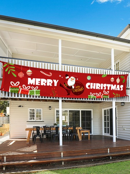 Christmas Nice Cloth Banner