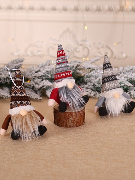 Gorgeous Cloth With Santa Claus Christmas Decoration