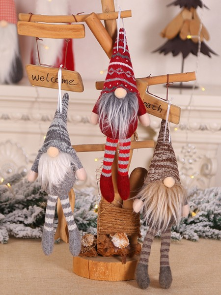 Quite Amazing Cloth With Santa Claus Christmas Decoration