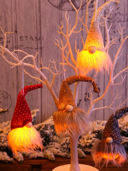 Beautiful Plastic With Hat Christmas Decoration