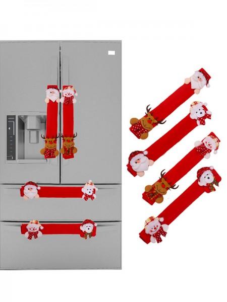 Christmas Beautiful Cloth Fridge Magnets