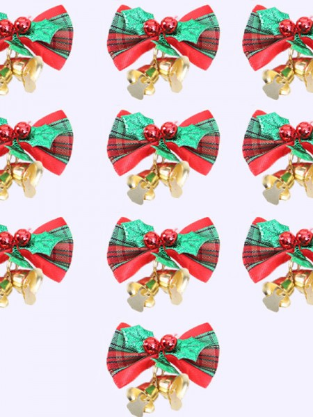 Christmas Excellent Bowknot Cloth Christams Decoration(2 Pieces)