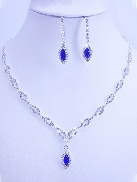 Gorgeous Rhinestone Jewelry Sets For Women