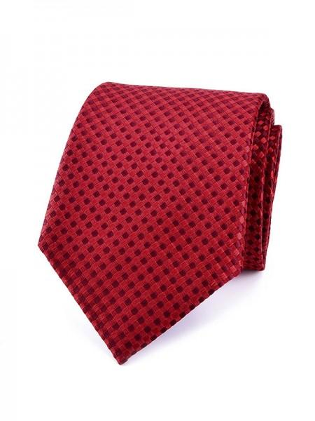 Modern Polyester Plaid Tie