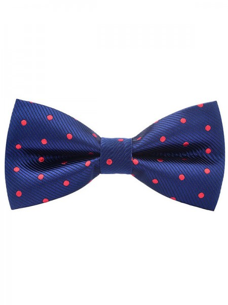 Classic Polyester Dot Bow Tie
