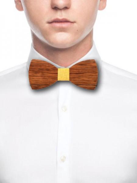 Vintage Wood Bow Tie