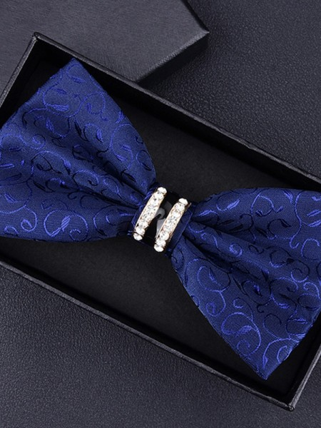 Fashion Floral Polyester Bow Tie