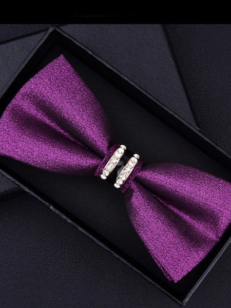 Fashion Style Polyester Bow Tie
