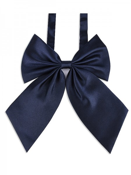 Graceful Polyester Bow Tie For Women