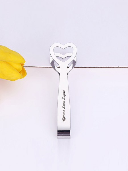 Wedding Gifts-Simple Stainless Steel Fruit Clamps(5 Pieces)