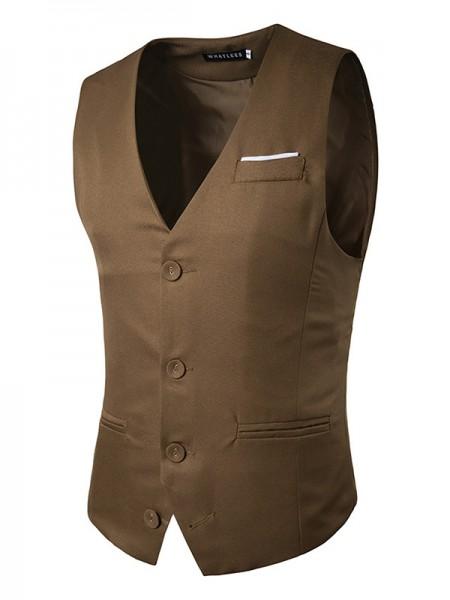 Modern Cotton Men's Vest/Waistcoat