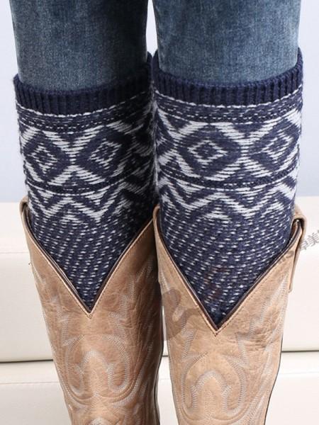 Christmas Glamorous Acrylic Socks