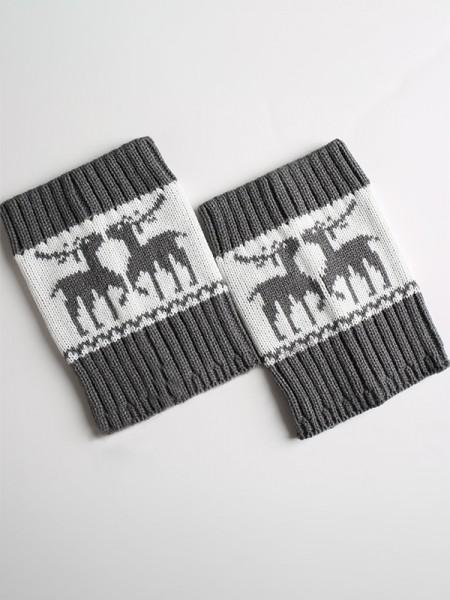 Christmas Awesome Acrylic With Deer Socks