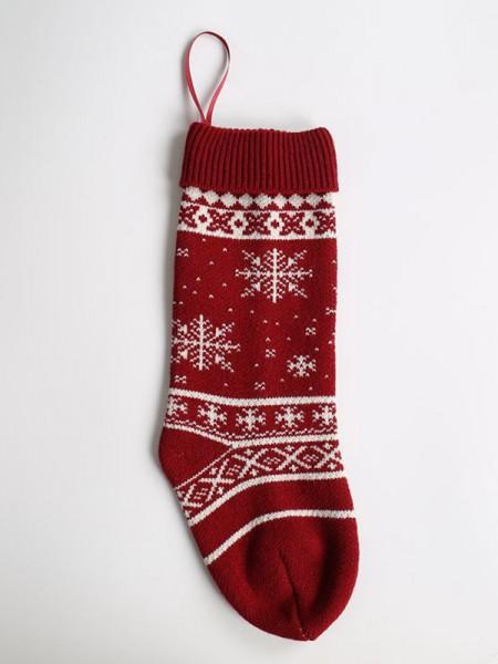 Christmas Unique Acrylic With Snowflake Socks