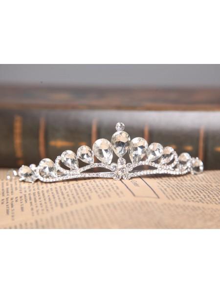Nice Alloy Clear Crystals Wedding Headpieces