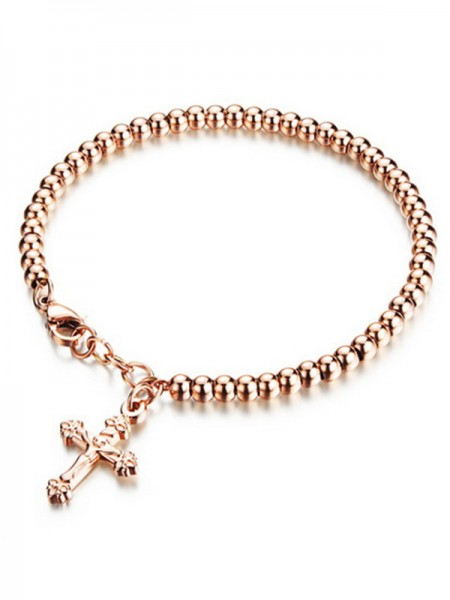 Ladies' Sundry Titanium Cross Bracelets