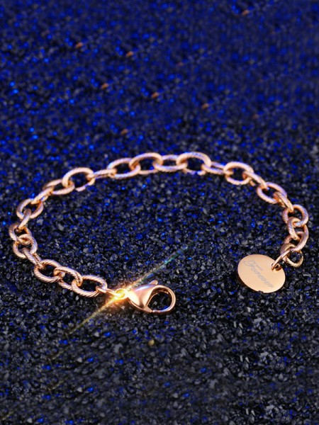 Trending Titanium Chain Bracelets For Women