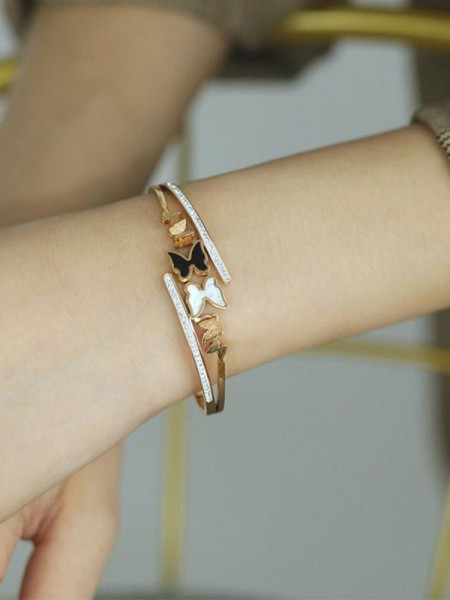 Trending Titanium With Butterfly Bracelets