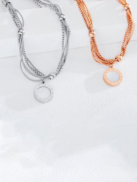 Trending Titanium With Circle Pattern Bracelets For Ladies